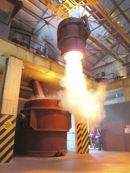 Take your kids to BHP steelmaking show at Newcastle Museum