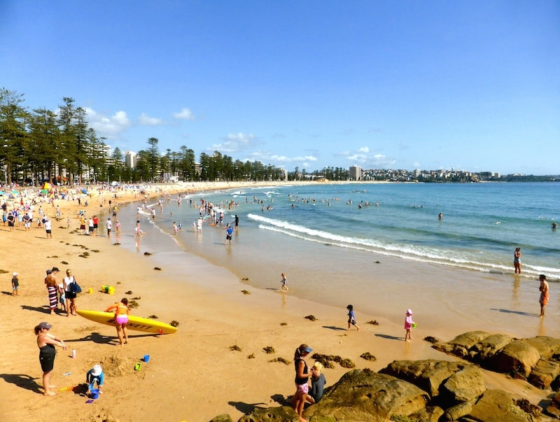 A family day out in Manly